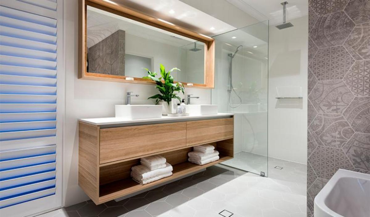 sorrento ensuite bathroom gallery above counter basin