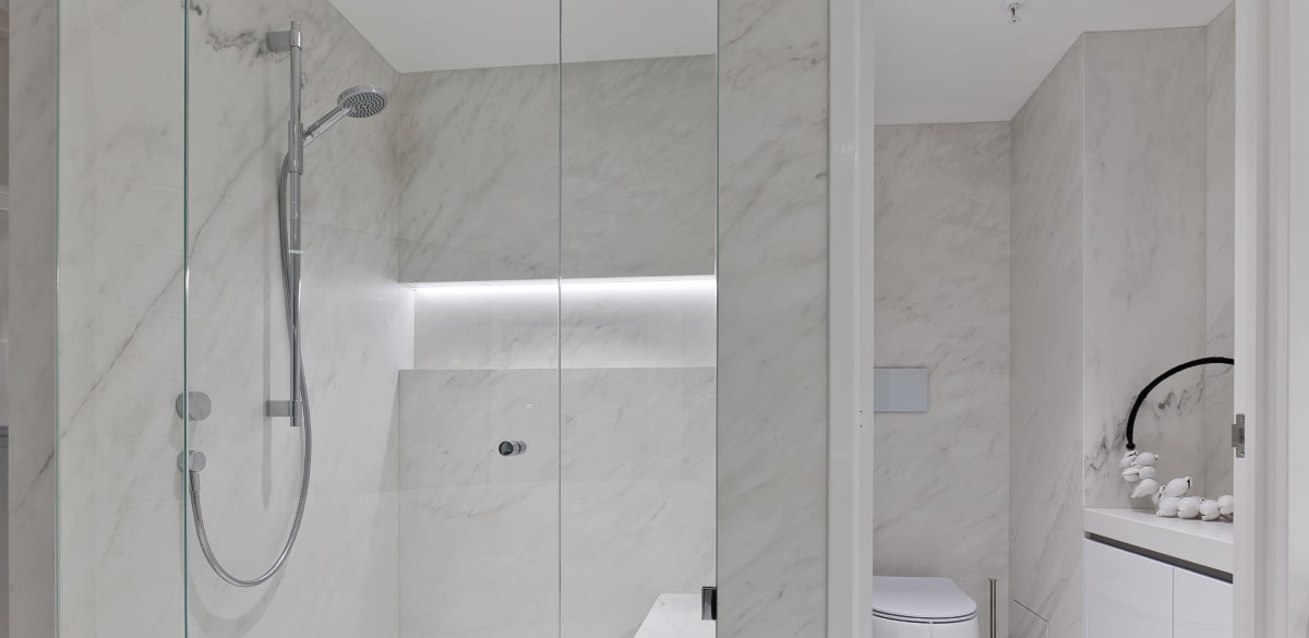 southperth ensuite project gallery shower