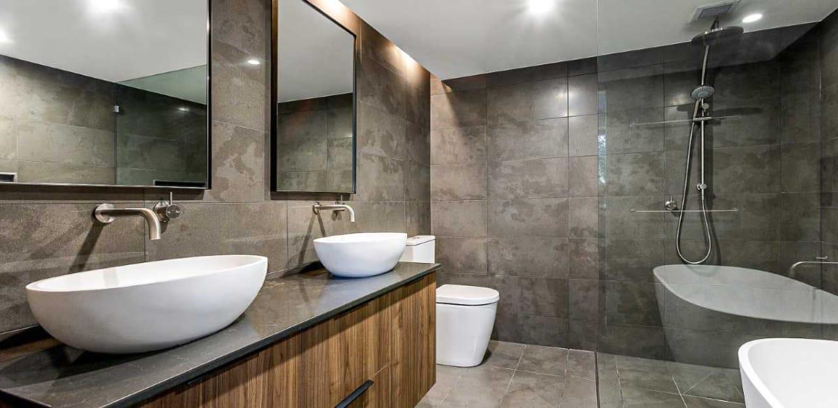 newfarm ensuite project gallery basin vanity