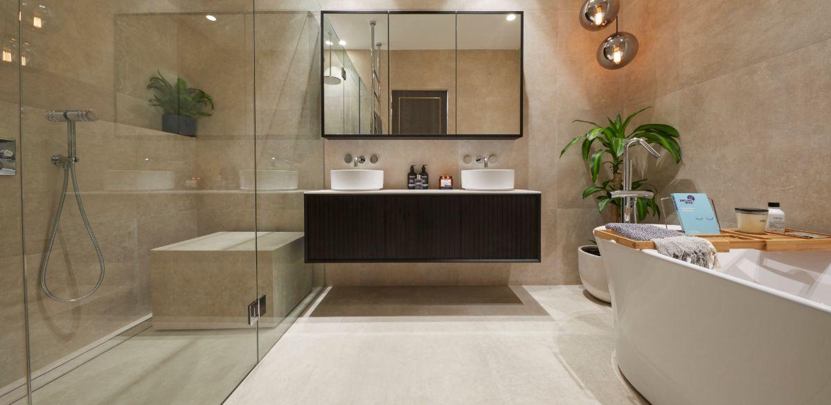 jesse mel the block main bathroom vanity