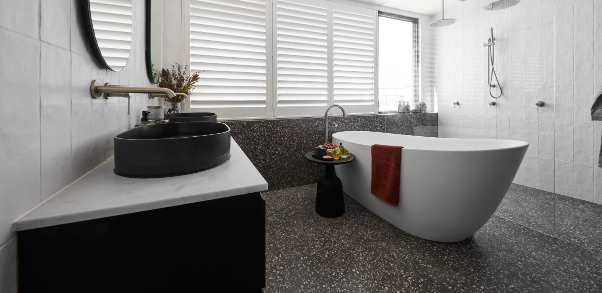 tess luke master ensuite the block bath