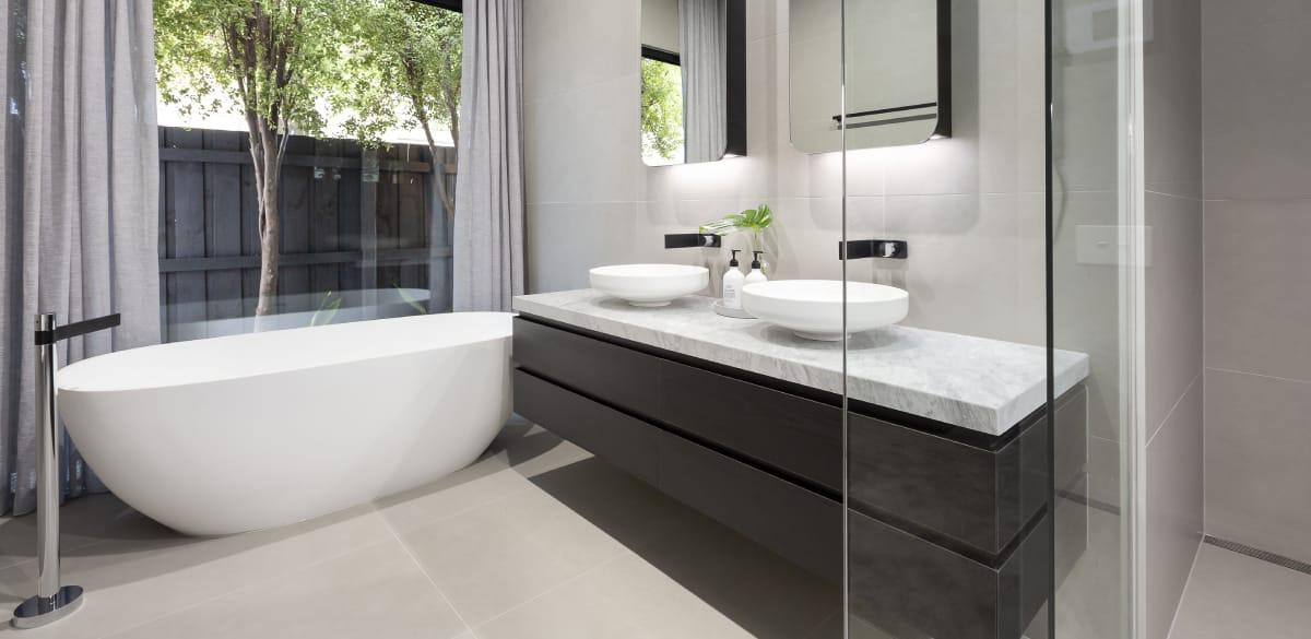 freestanding bath ensuite renovation
