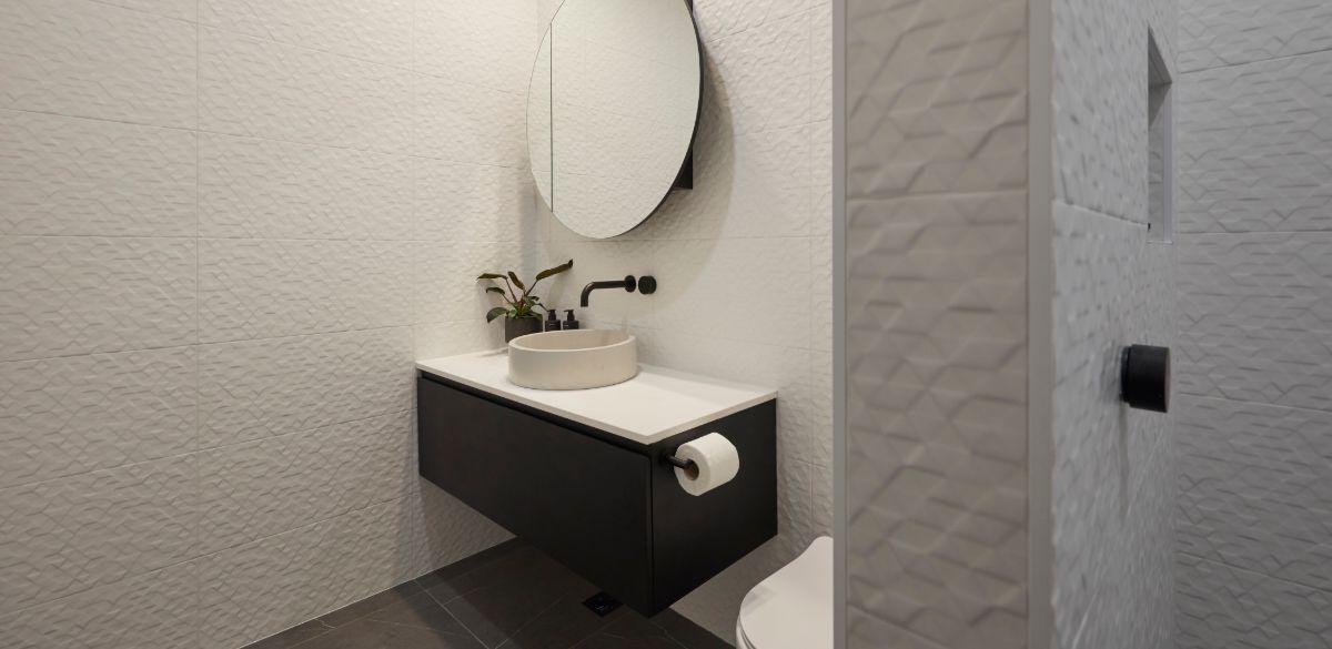 elise and matt studio bathroom the block 2019