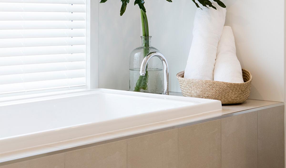 Reece bathroom gallery inset bath