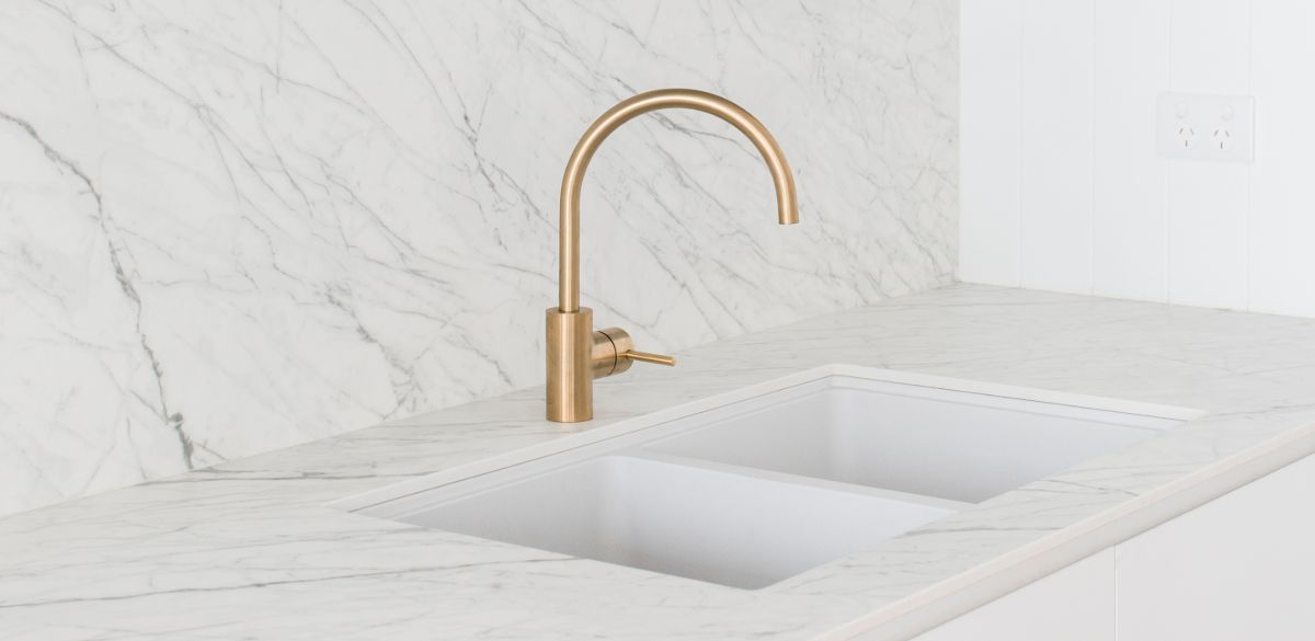 gold laundry tap