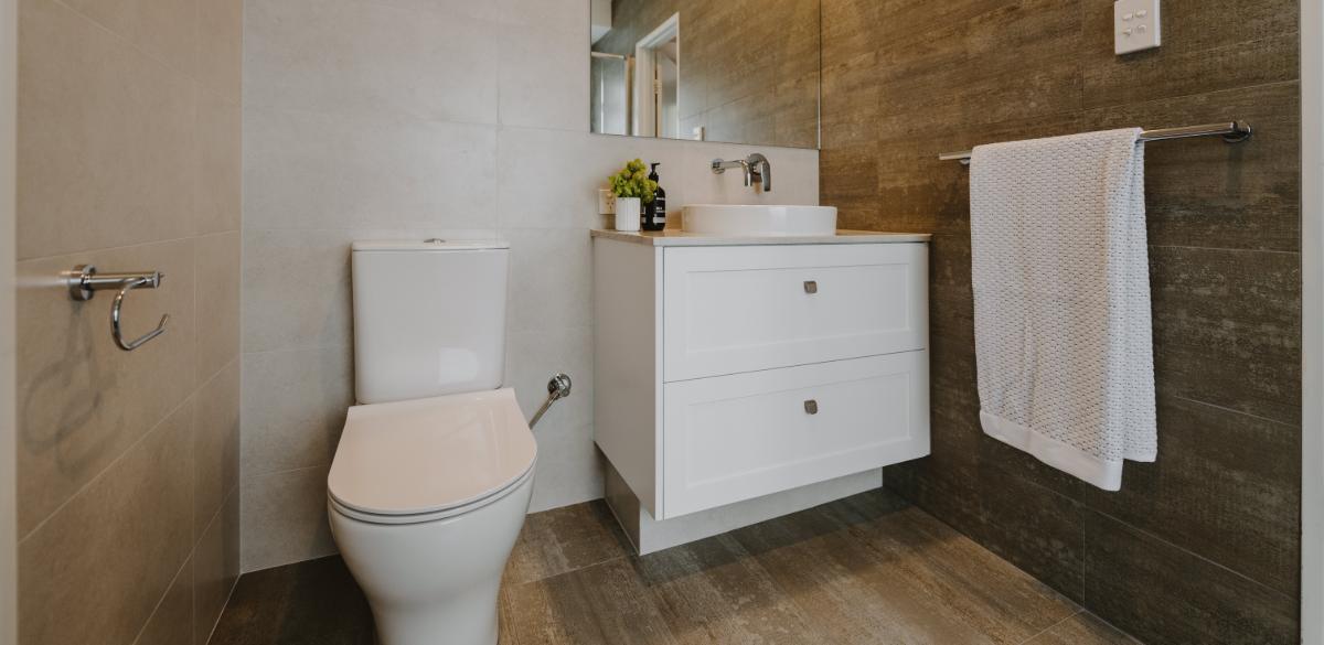 main bathroom vanity white