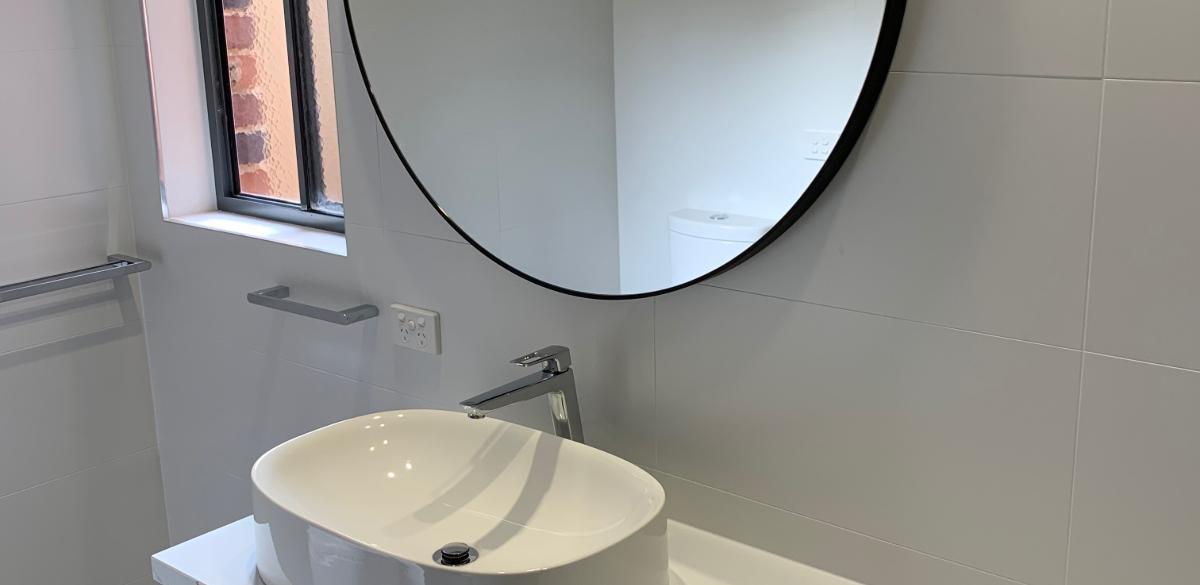 horsham ensuite project gallery mirror