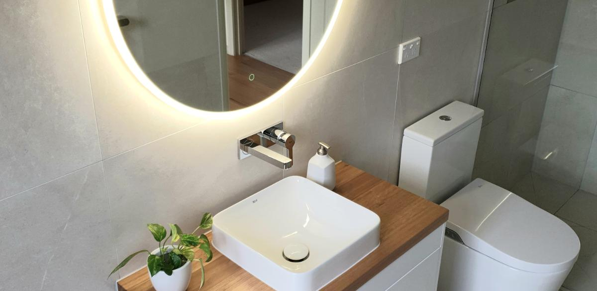 bathroom renovation smart toilet