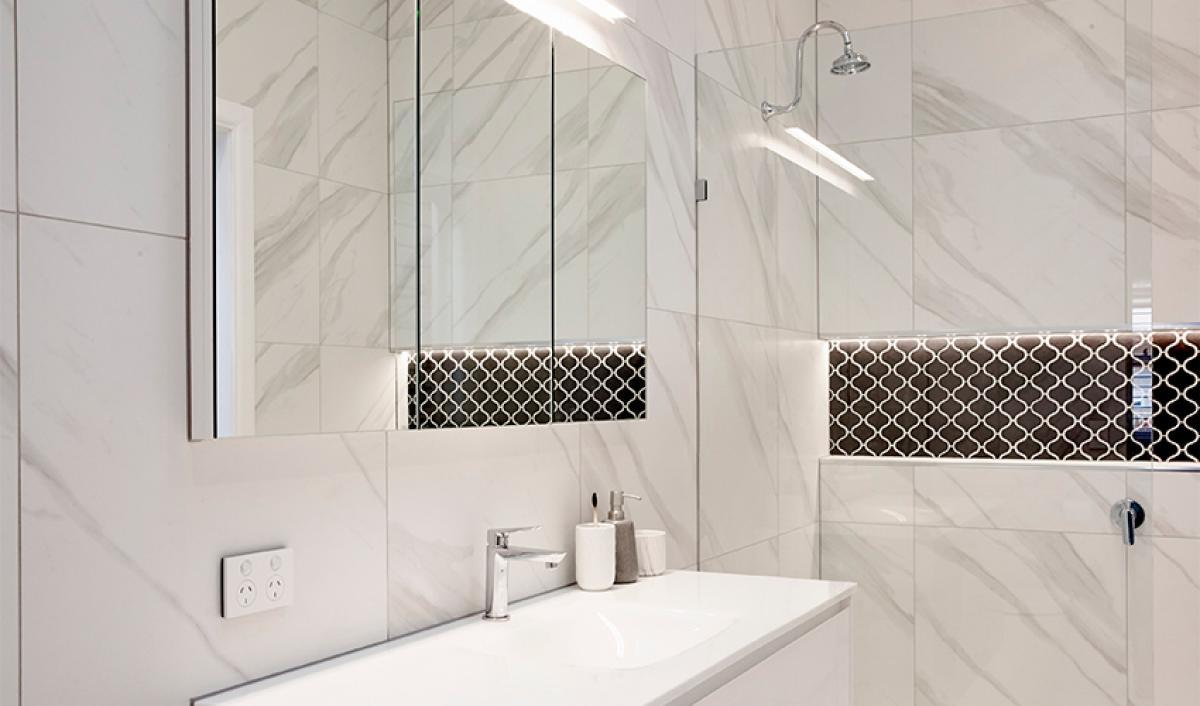 Reece bathroom theblock mirror
