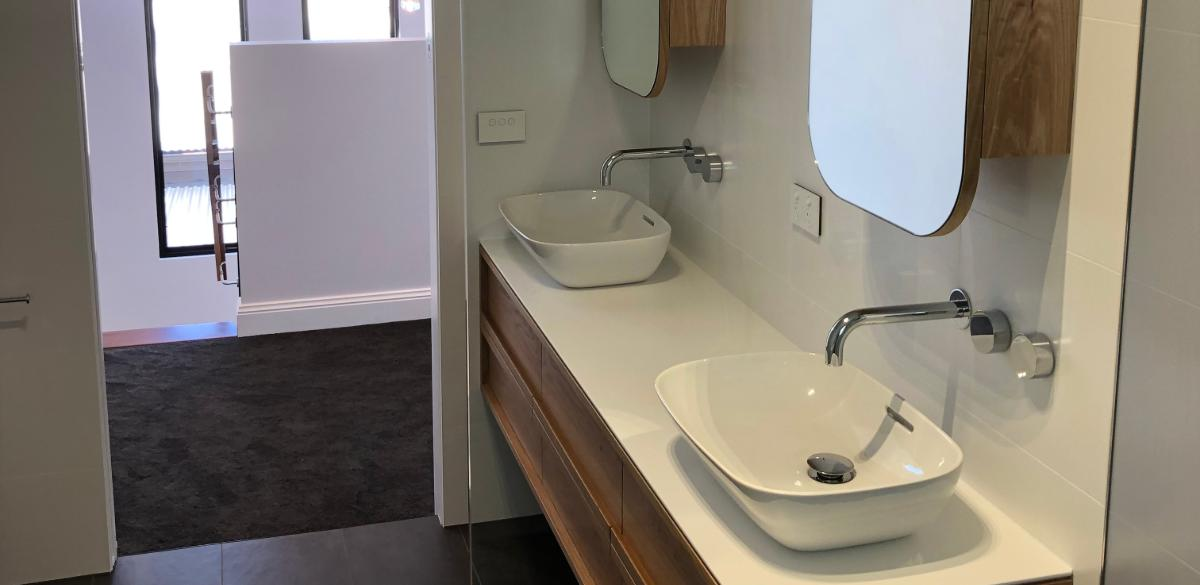wall taps bathroom renovation