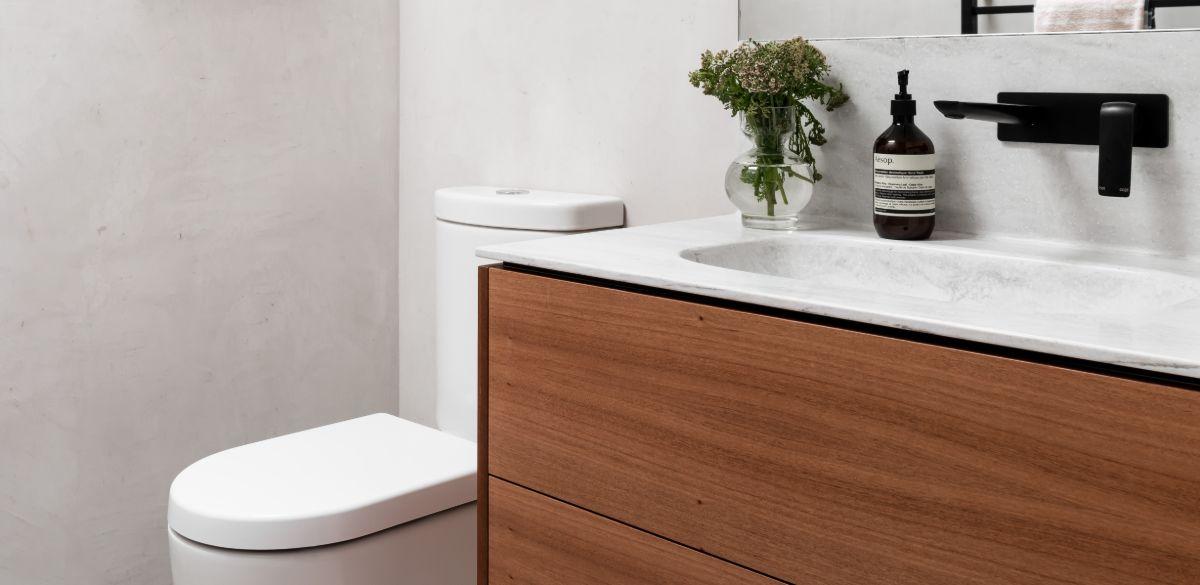 claremont bathroom black basin tap