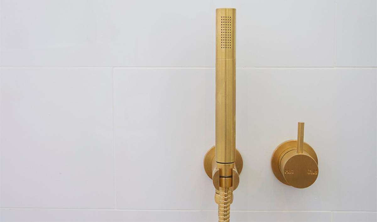 Reece theblock bathroom shower mixer