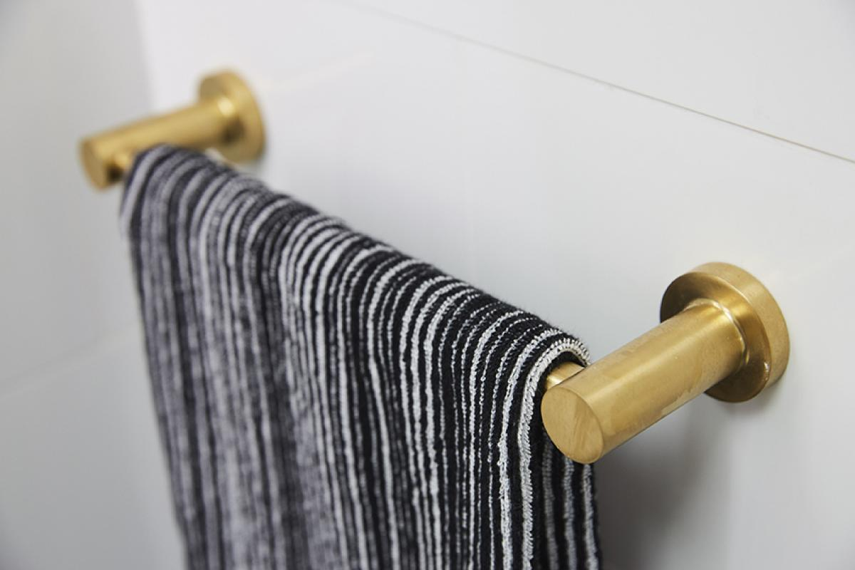 Reece theblock bathroom towel rail