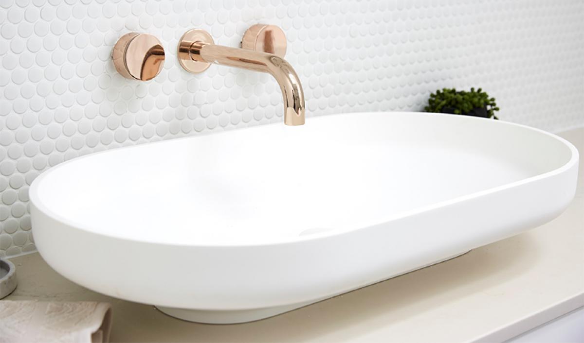 Reece theblock bathrooms omvivo basin matte white