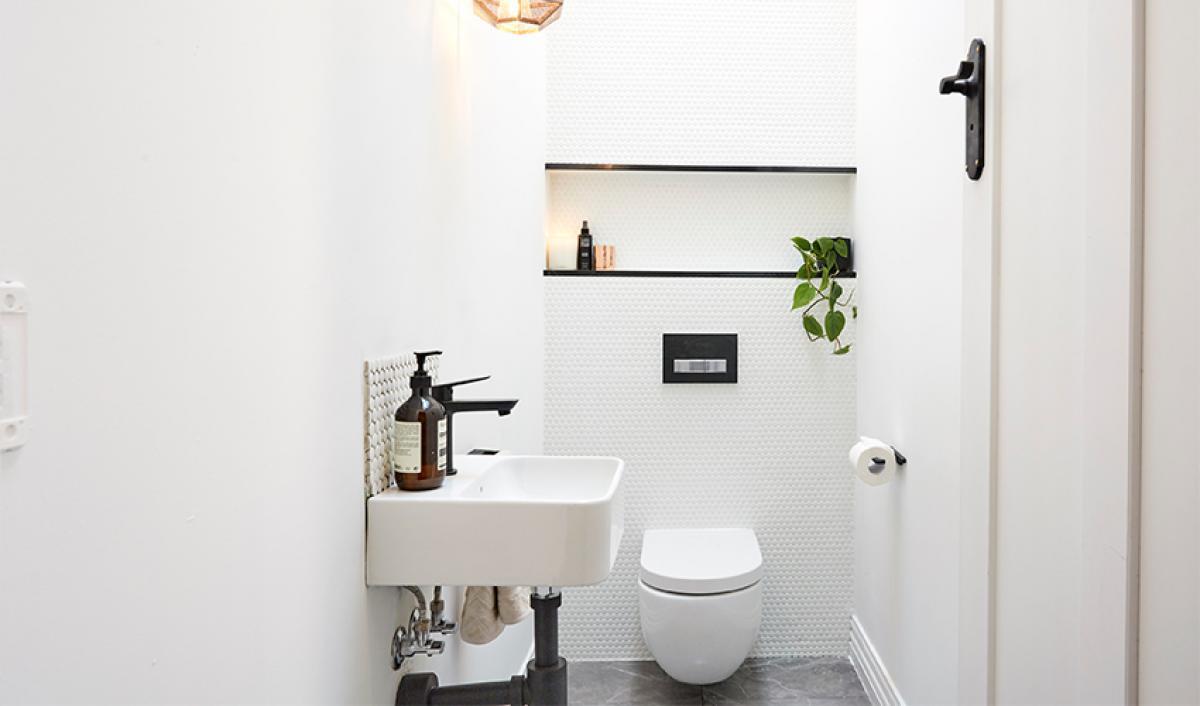 Reece theblock bathrooms toilet pan
