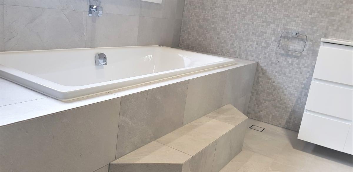 wahroonga bathroom renovation inset bath