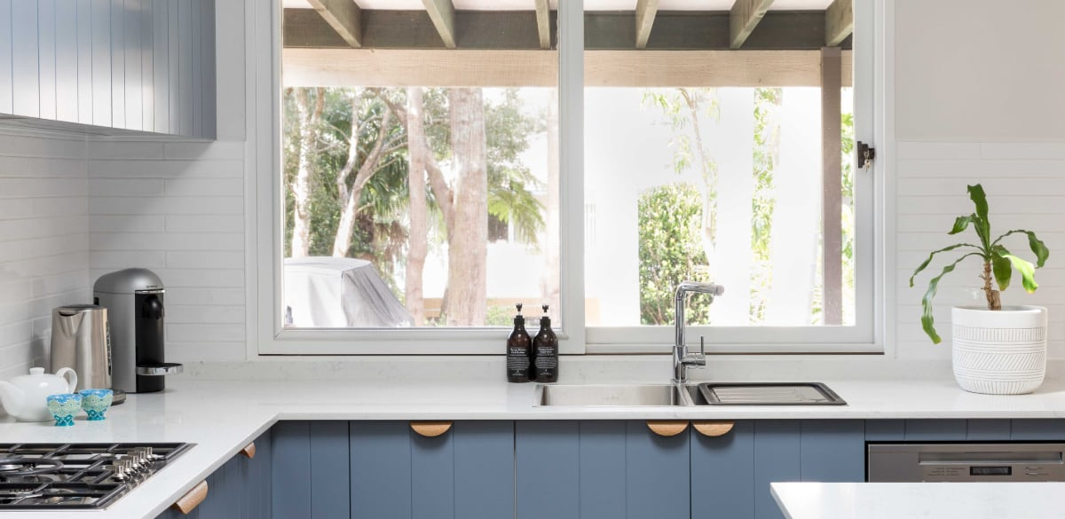 hamptons style kitchen cupboard