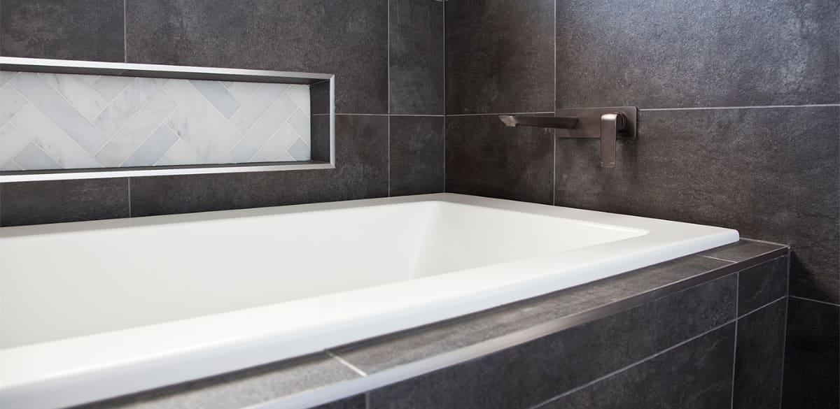 inset bathtub renovation