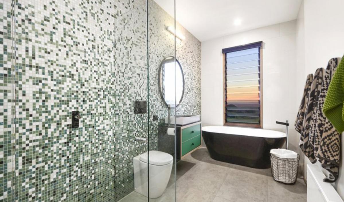 Reece bathrooms gallery open shower screen
