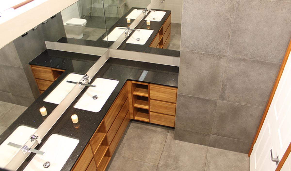 Reece bathroom gallery double vanity
