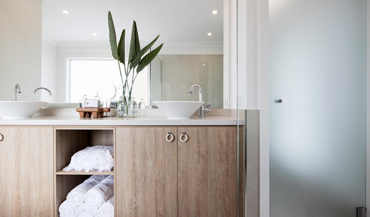 Reece bathroom gallery vanity storage