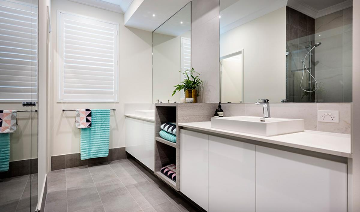 Reece bathroom gallery double vanity inspiration