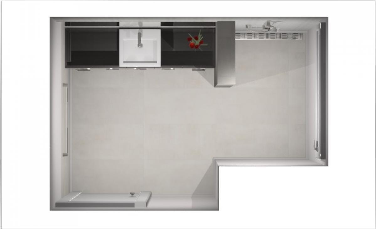 Reece bathroom gallery 3d plan