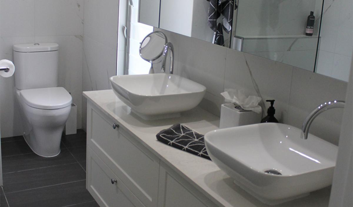 Reece bathroom gallery above counter basin