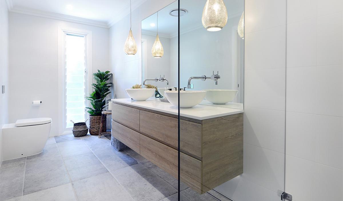 Reece bathroom gallery chrome tapware
