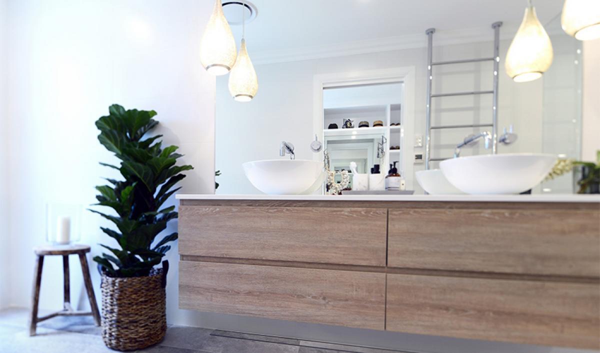 Reece bathroom gallery timber vanity