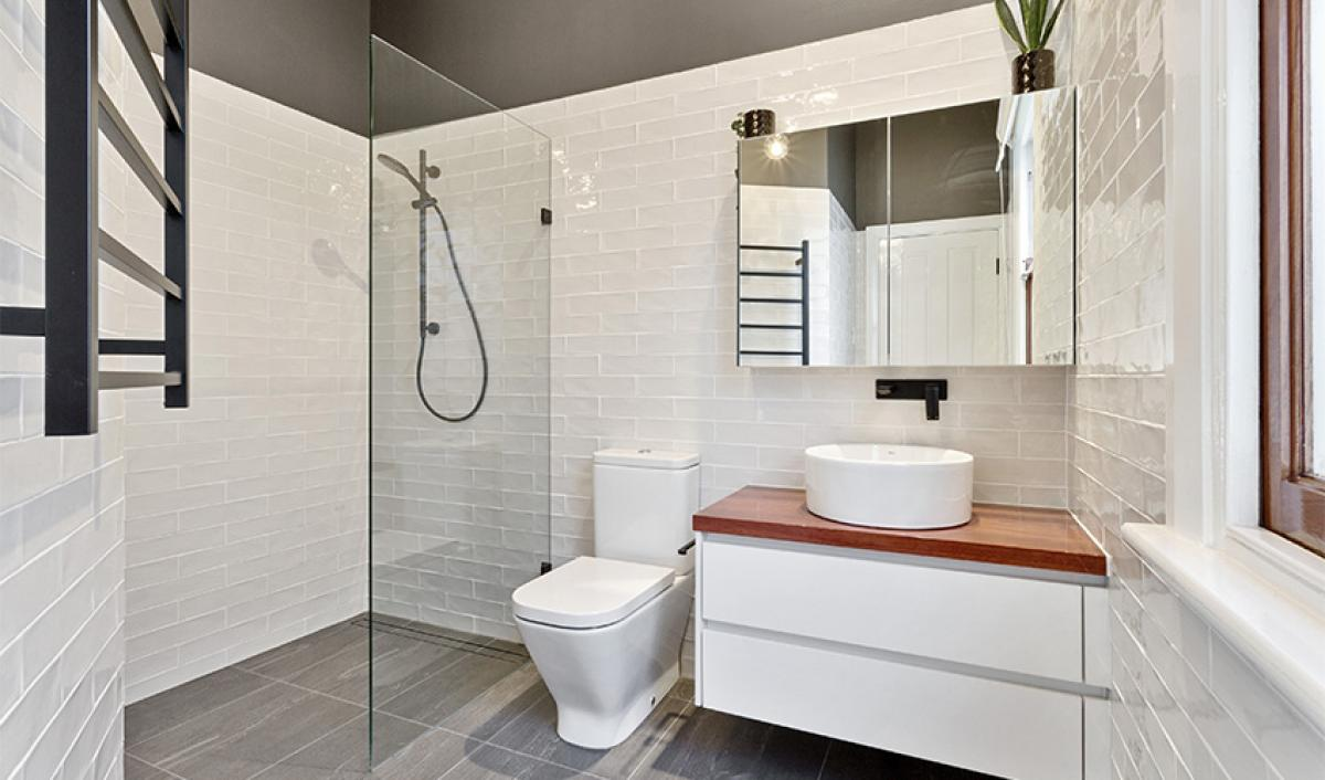Reece bathrooms gallery matte black towel ladder