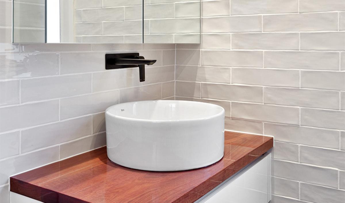 Reece bathrooms gallery timber vanity unit