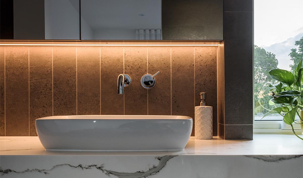 Reece bathrooms above counter basin inspiration