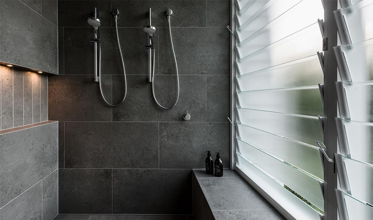Reece bathrooms gallery double shower chrome