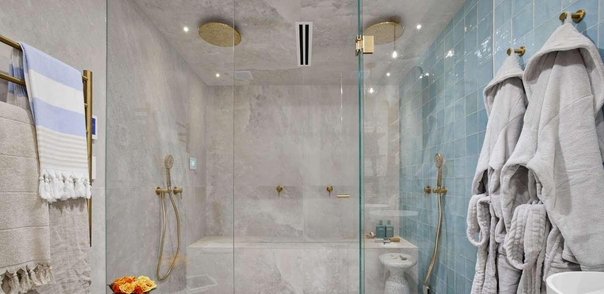theblock mitchandmark homespa project gallery mizu overhead shower