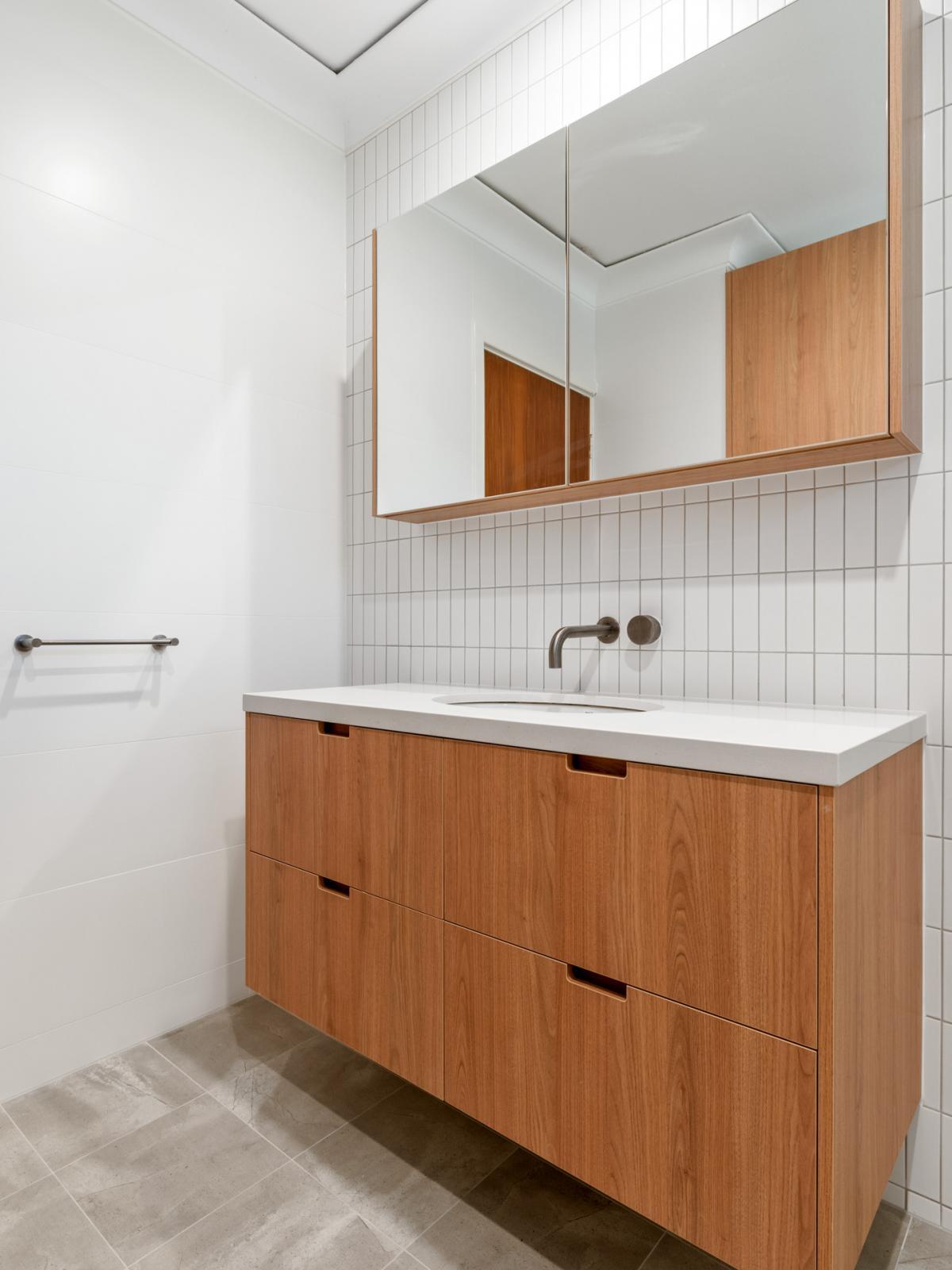 Reece bathrooms gallery timber vanity