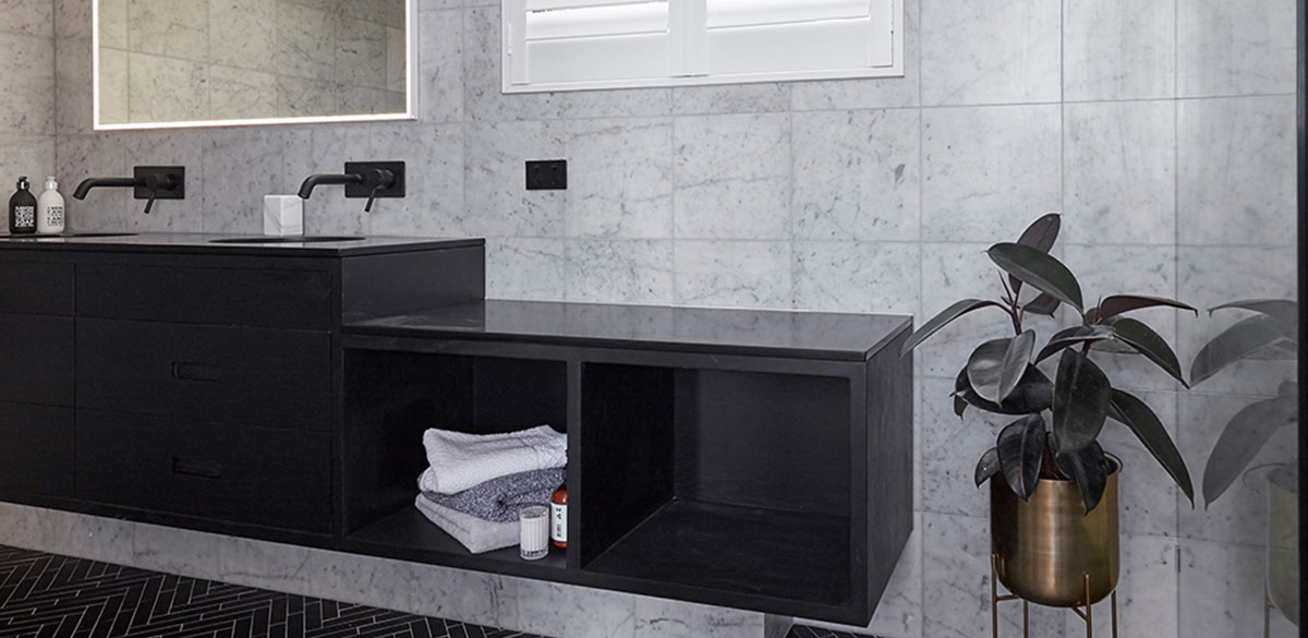 reece bathroom the block mizu drift black tap