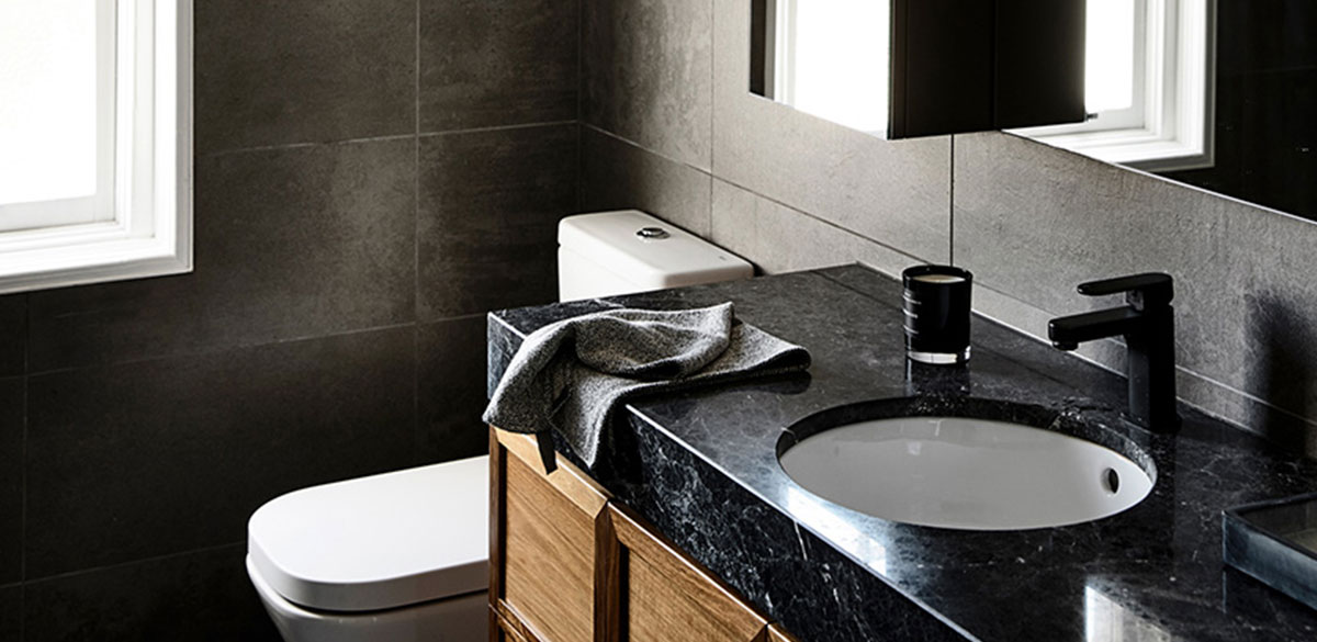 Reece bathroom inspiration industrial bathroom