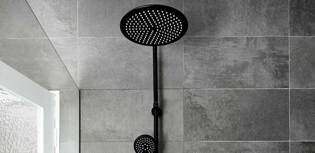 Reece bathroom matte black mizu drift shower