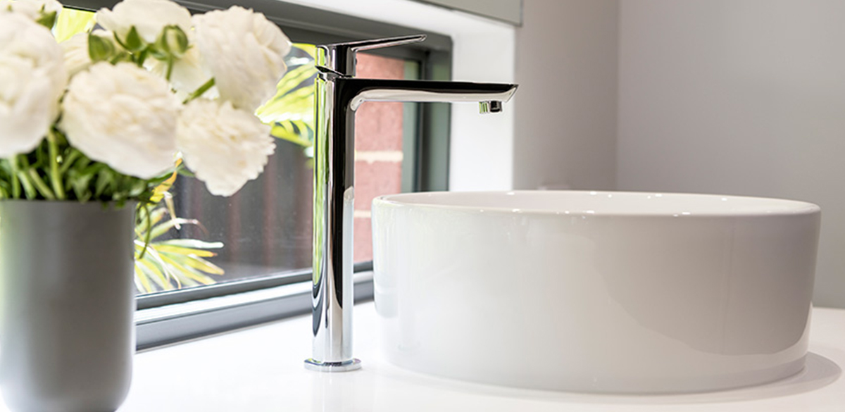 Reece bathroom chrome basin tap