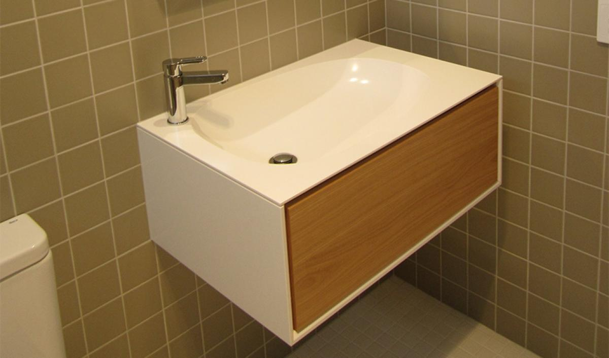 Reece bathrooms ISSY Glide high end vanity