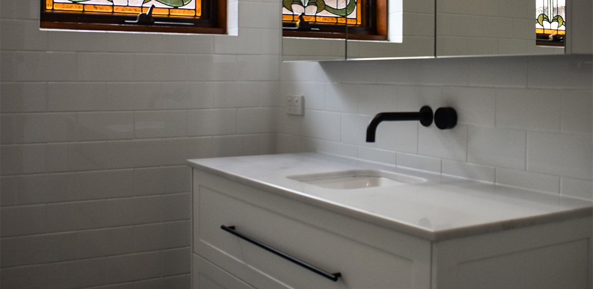 Reece bathroom gallery vanity unit