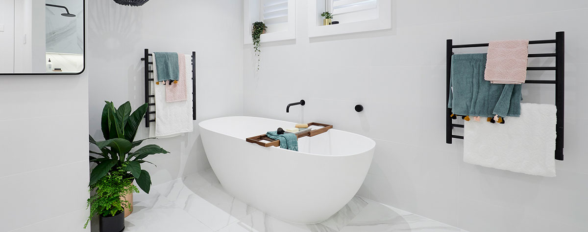 Reece The Block 2018 Kerrie and Spence freestanding bath