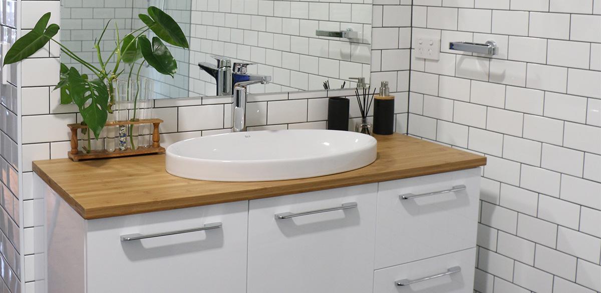 Reece bathroom chrome basin tap