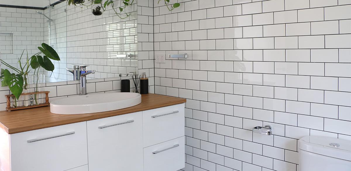 Reece bathroom wooden vanity unit