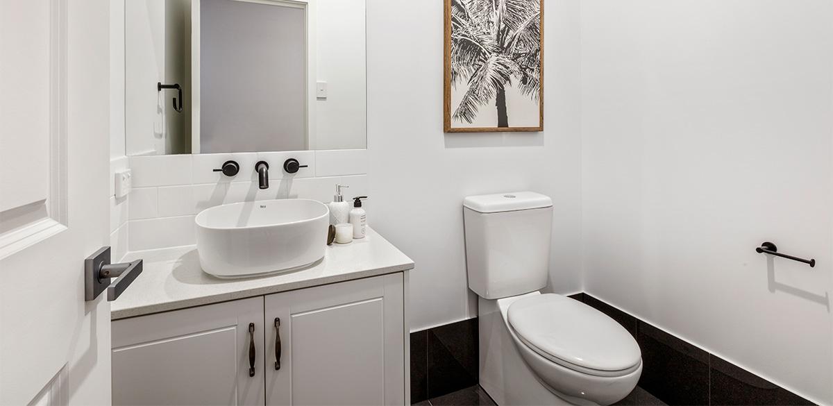 Reece bathroom single vanity