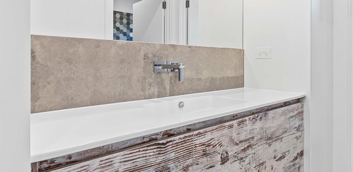 Reece bathroom renovation tapware