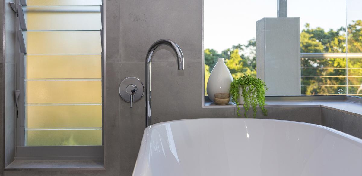 Reece bathroom bath tap chrome
