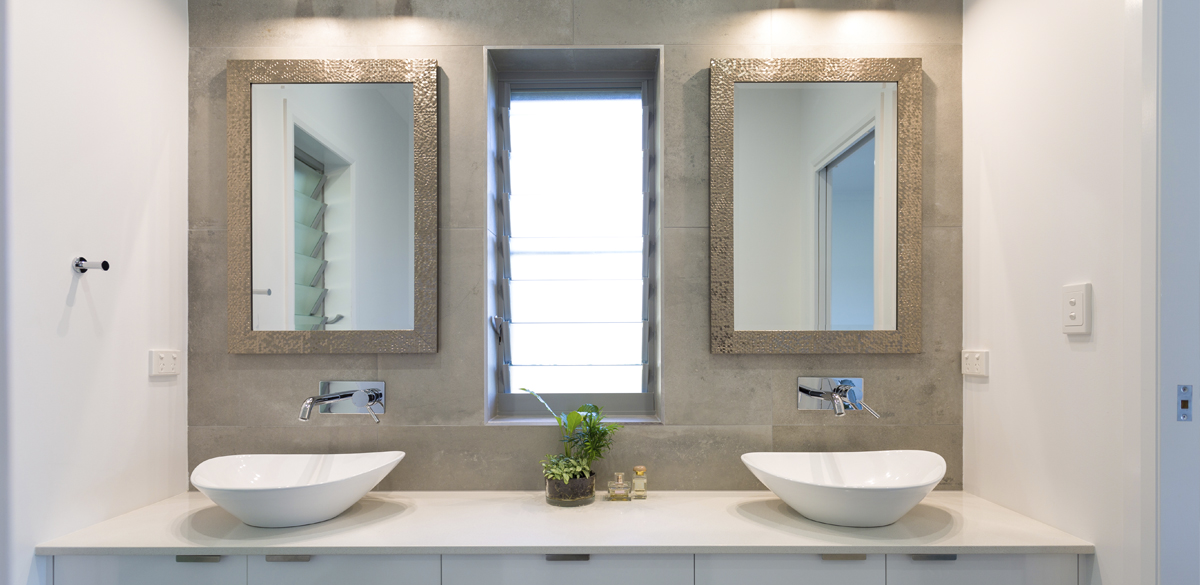 Reece bathroom basin mixer chrome