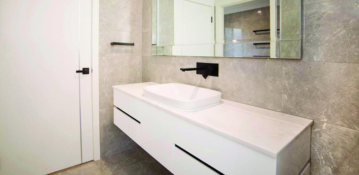 hectorville main bathroom project gallery vanity reece
